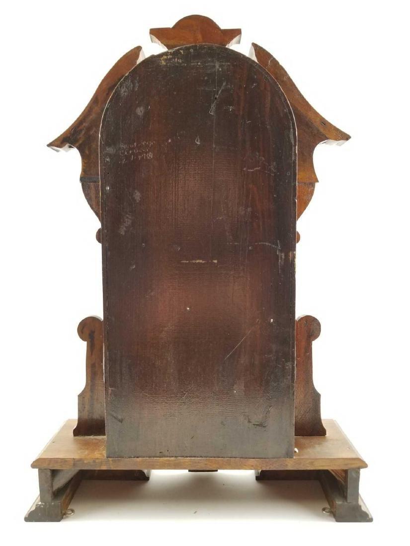 Antique Waterbury Clock Company Mantle Shelf Clock - 7
