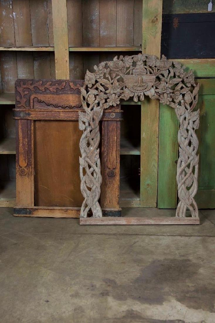 Carved Wood Mirror Frames