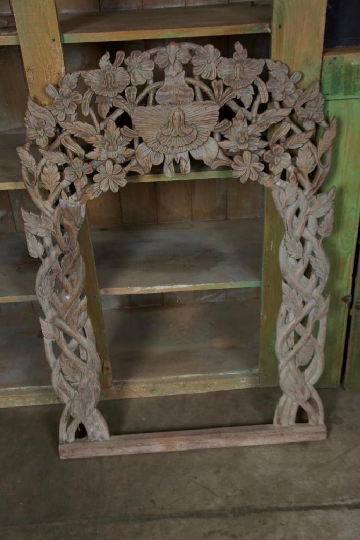 Carved Wood Mirror Frames - 5