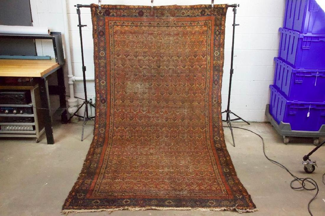 Antique Persian Style Geometric Rug