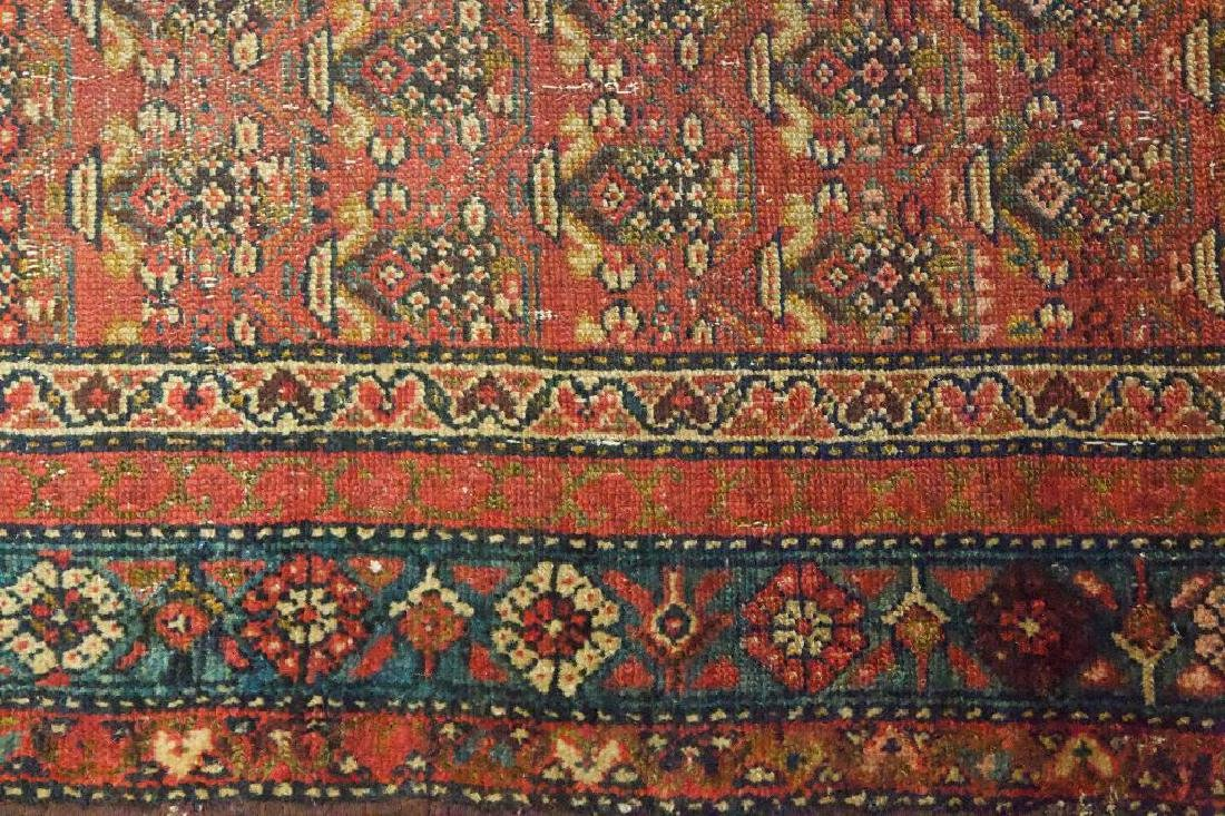 Antique Persian Style Geometric Rug - 4