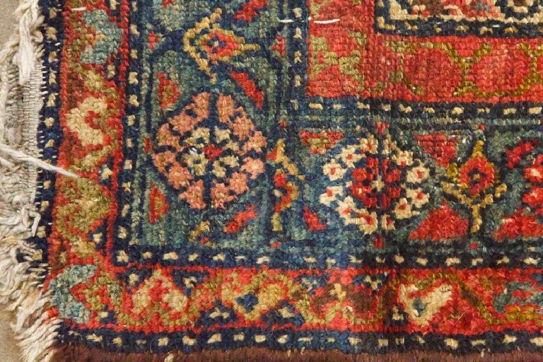 Antique Persian Style Geometric Rug - 5