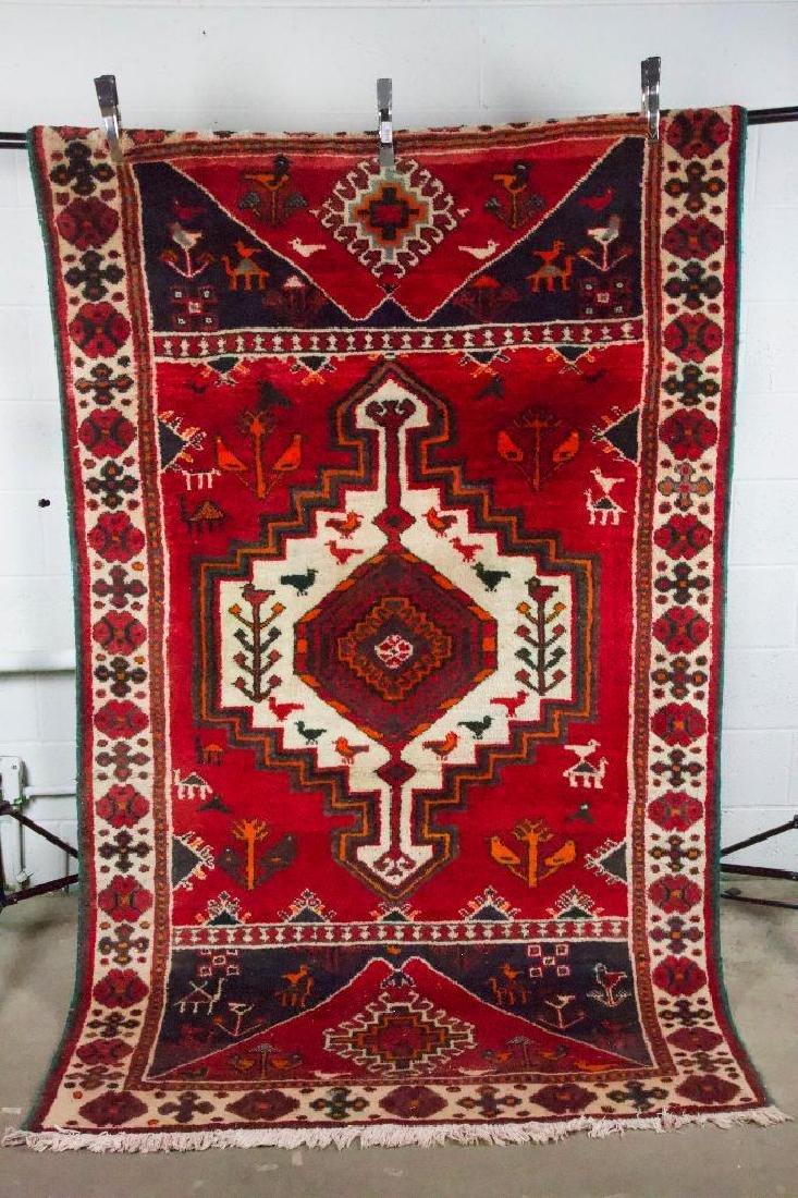 Persian Style Geometric Rug