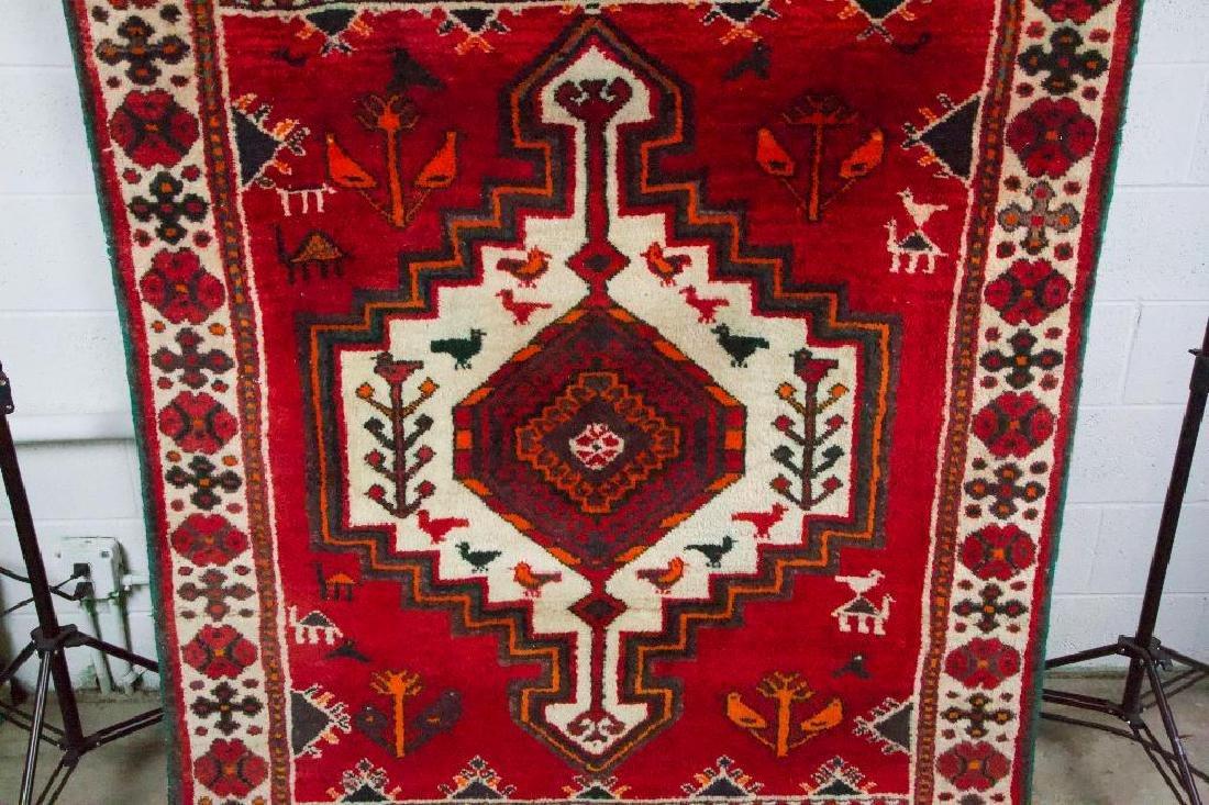 Persian Style Geometric Rug - 3
