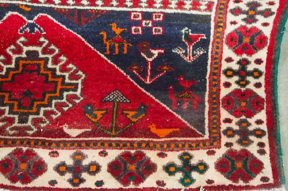 Persian Style Geometric Rug - 5