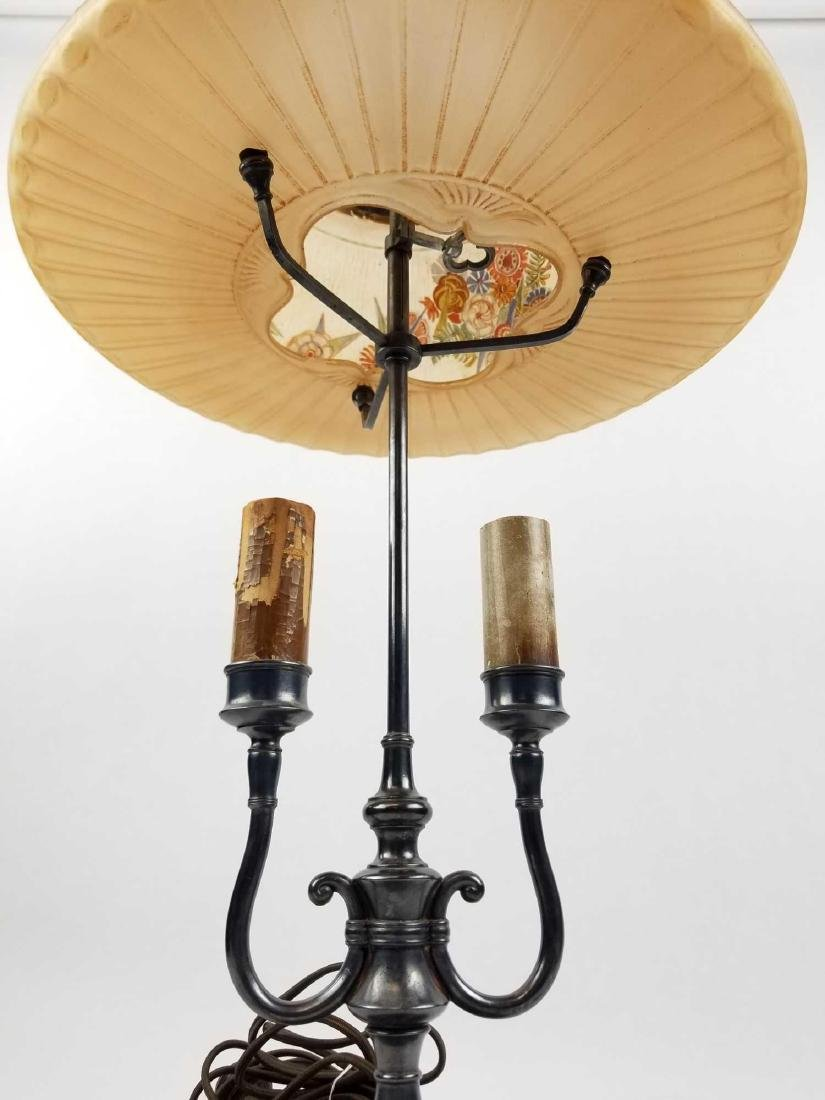 Pairpoint D3091 Lamp with Semi-Puffed Shade - 3
