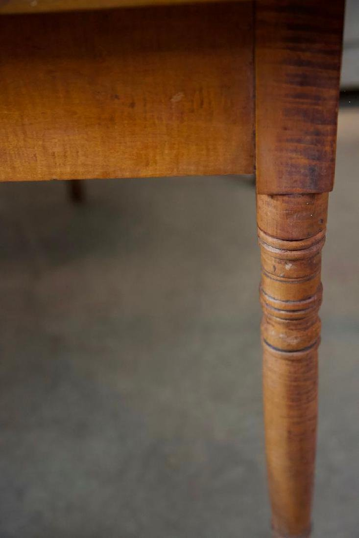 Tiger Maple Drop Leaf Gate Leg Table - 3