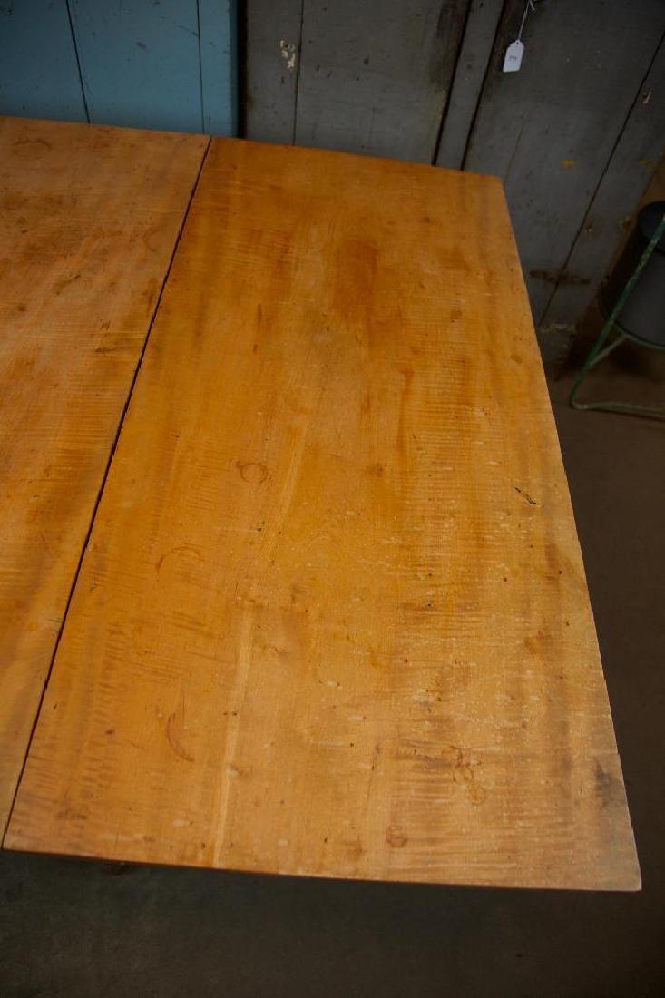 Tiger Maple Drop Leaf Gate Leg Table - 7