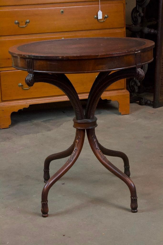 Antique Victorian Round Table
