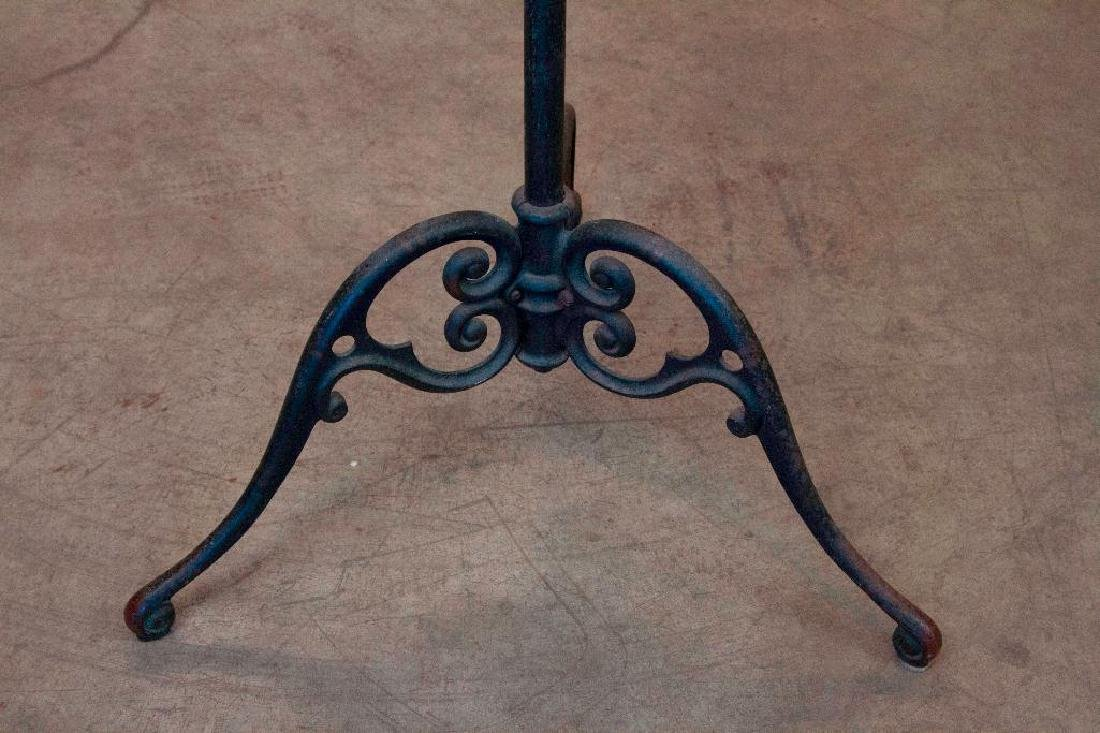 Victorian Iron and Copper Coat Rack - 5