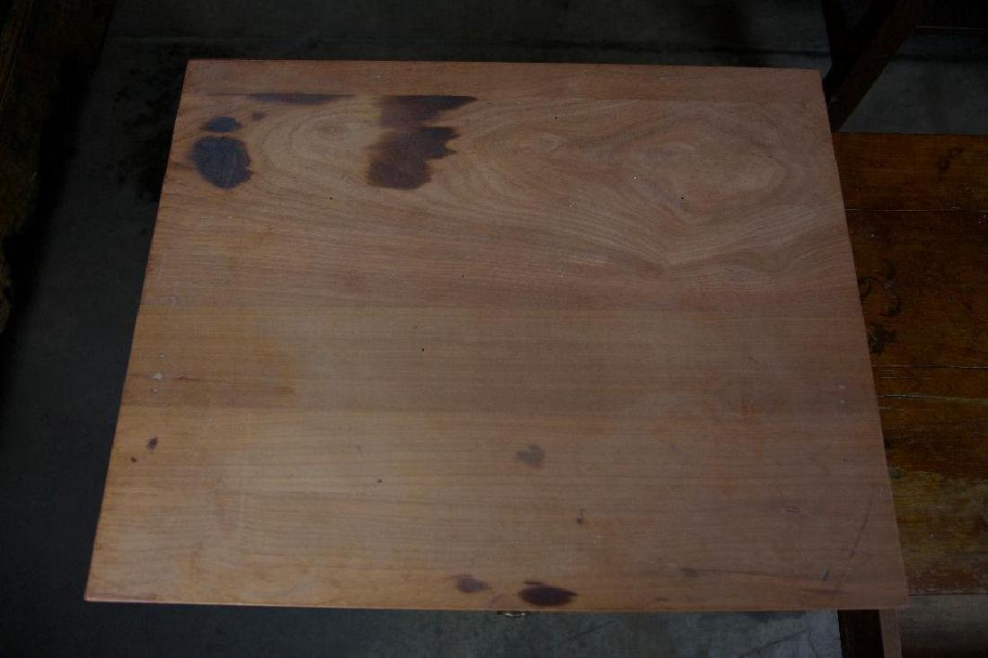 Pair of Rustic Antique Side Tables - 6