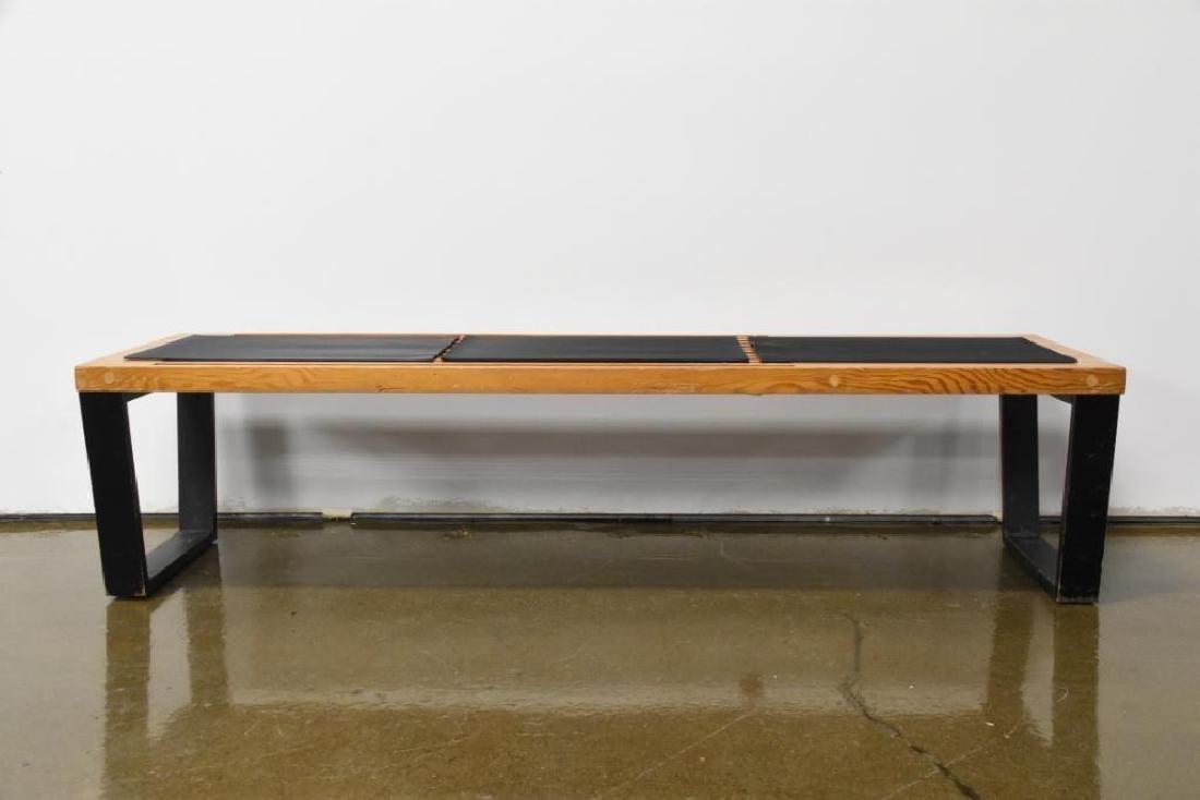 Nelson Style Slat Bench