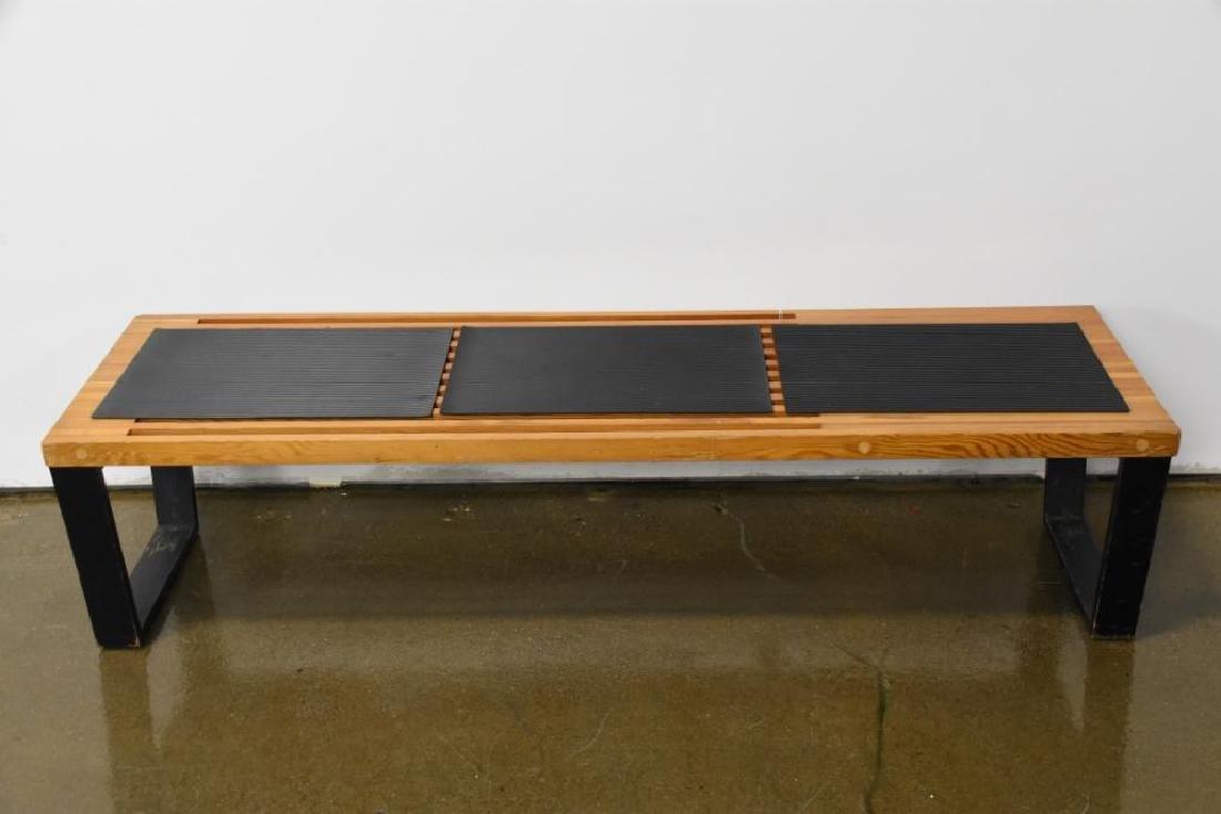Nelson Style Slat Bench - 2