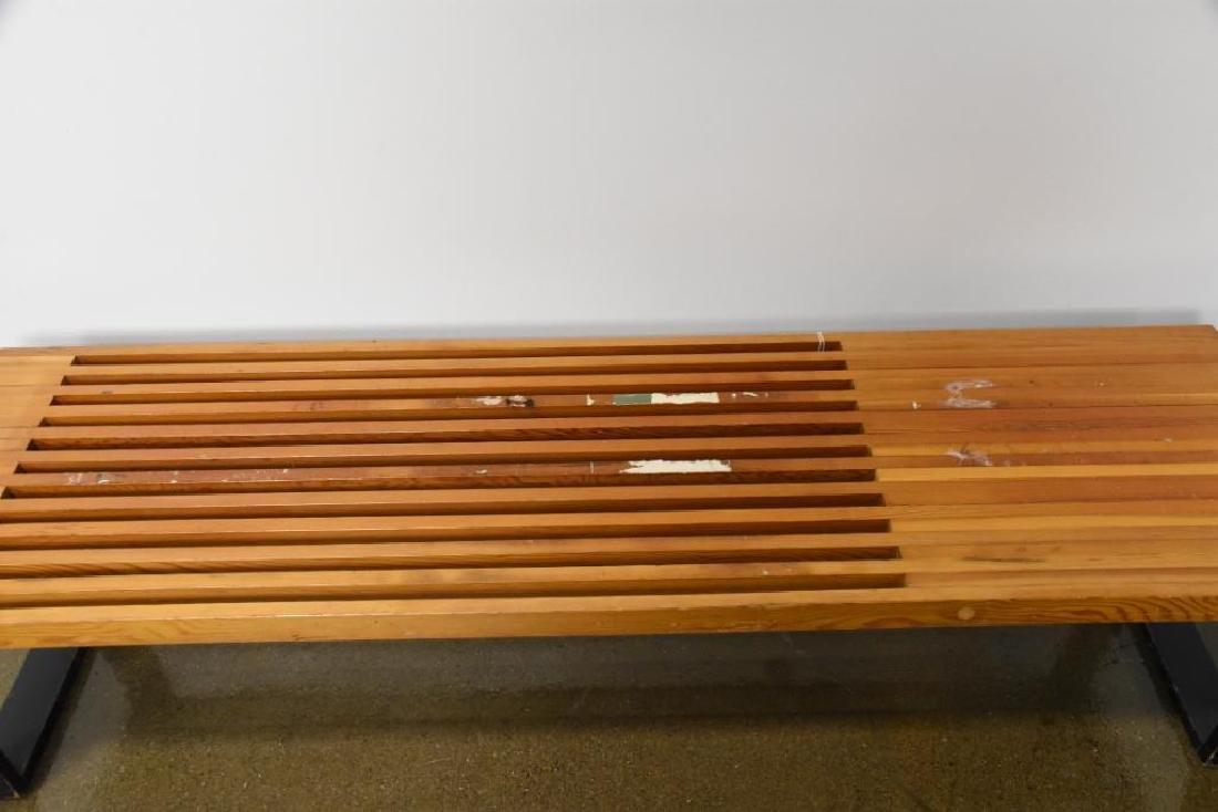 Nelson Style Slat Bench - 3