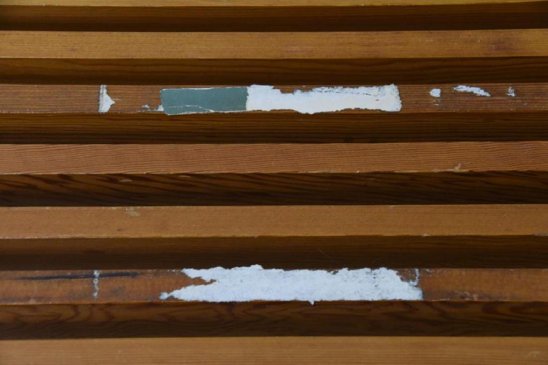 Nelson Style Slat Bench - 4