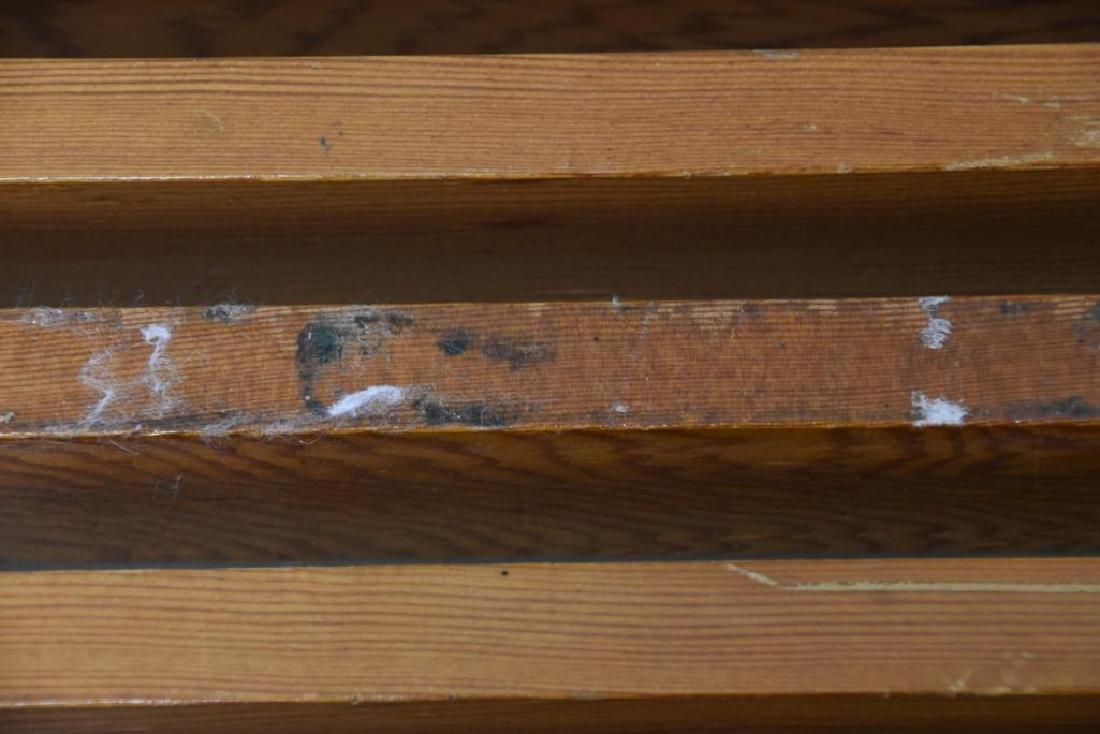 Nelson Style Slat Bench - 5