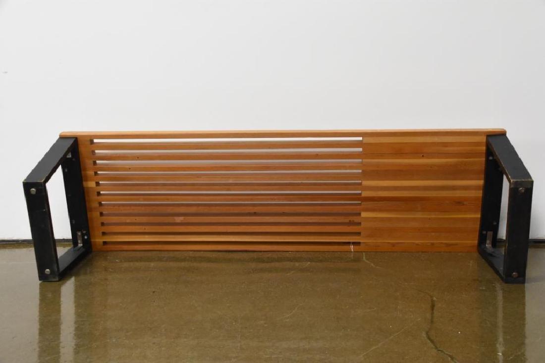 Nelson Style Slat Bench - 6