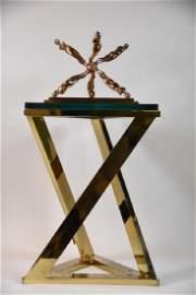 Ernest Trova Walking Jackman Bronze 1986