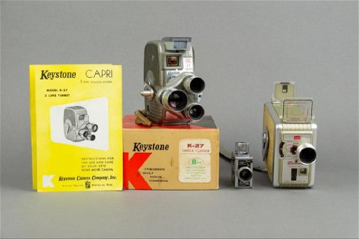 Lot Three (3) Vintage Cameras