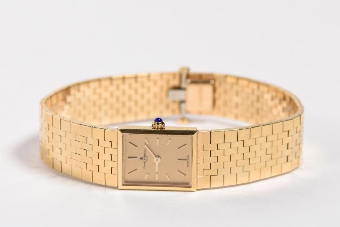 Vintage Baume Mercier 14k Gold Women's Watch