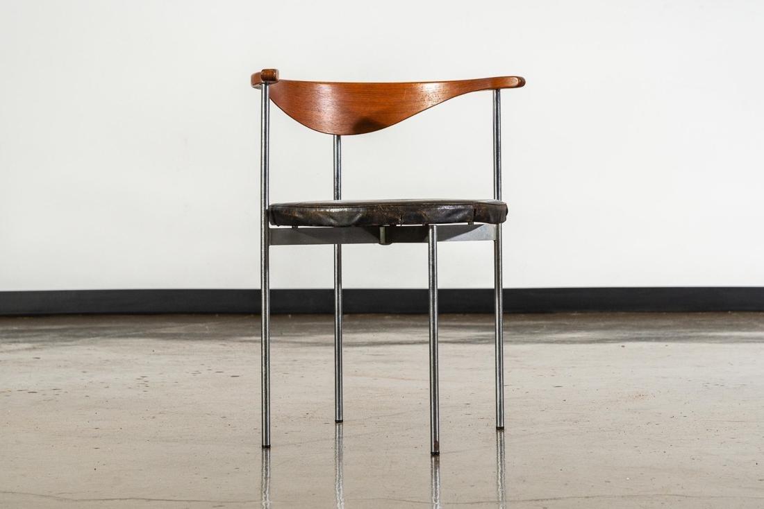 Frederik Sieck for Fritz Hansen Leather Chair