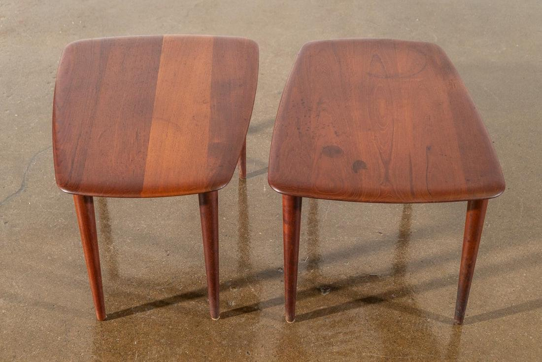 Peter Hvidt Teak Danish Modern End Tables