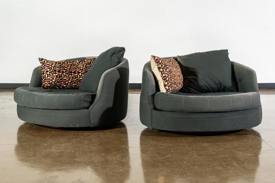 1960s Milo Baughman Tub Chairs