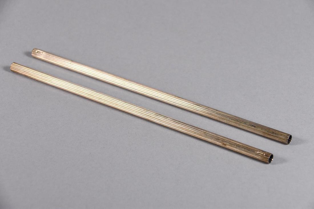 Tiffany & Co. Sterling Silver Straws