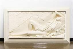Bill Mack Relief Sculpture, Signed