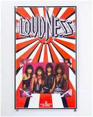 Lot of Two (2) Vintage Rock Posters; Loudness and
