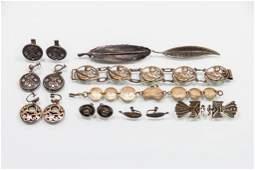 Lot of Vintage Southwestern Earrings Bracelets