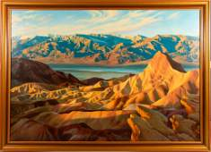 Death Valley Painting By Fred Lucas