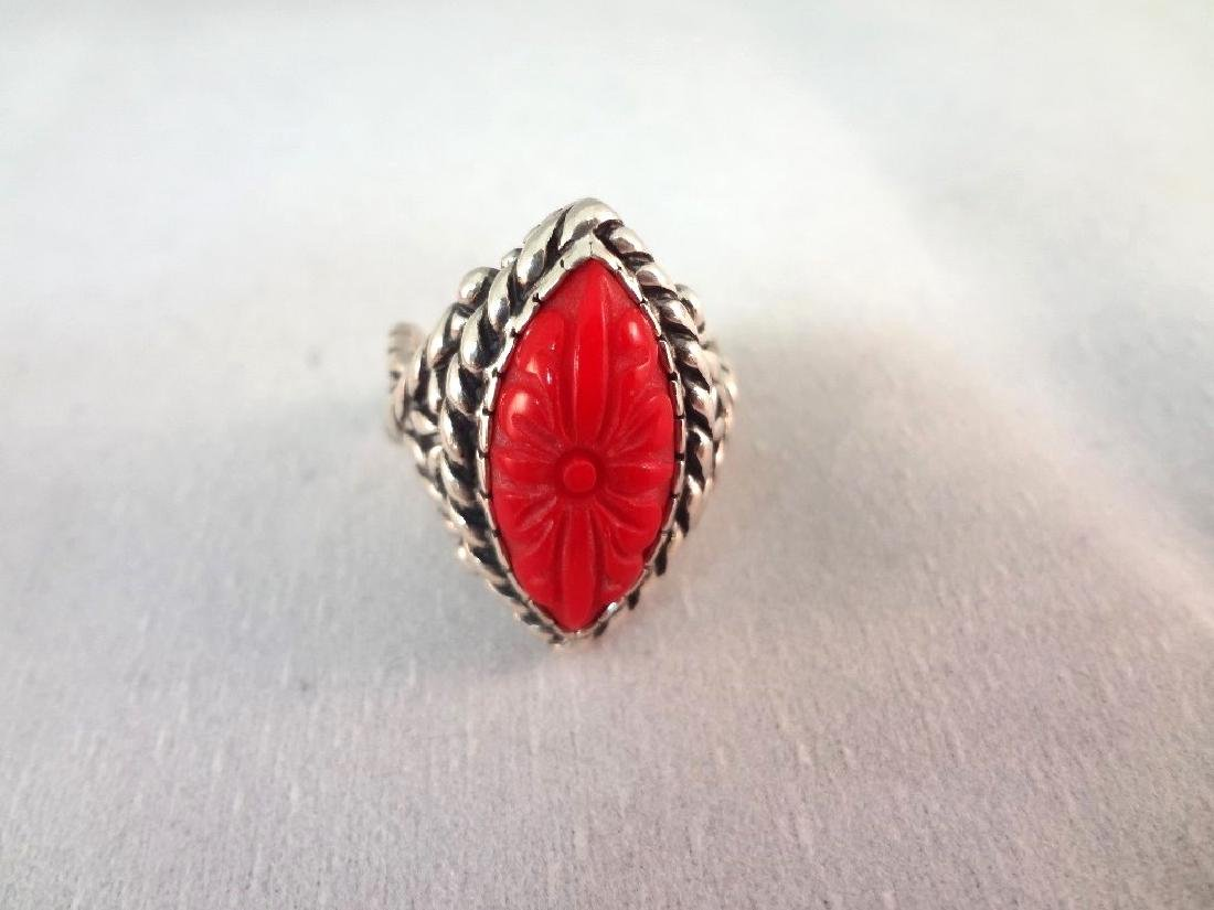 Carolyn Pollack Sterling Silver Shades of Coral - 3