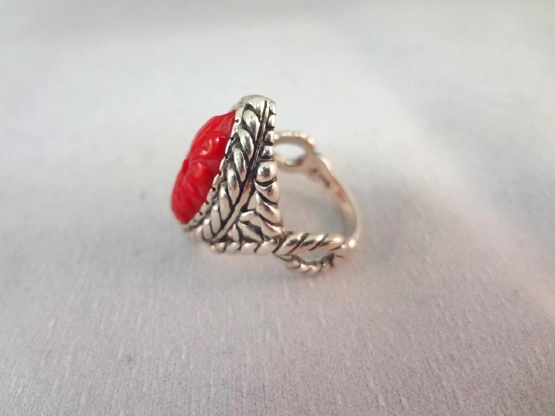 Carolyn Pollack Sterling Silver Shades of Coral - 4
