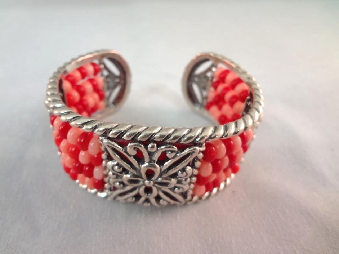 Carolyn Pollack Sterling Silver Shades of Coral - 5