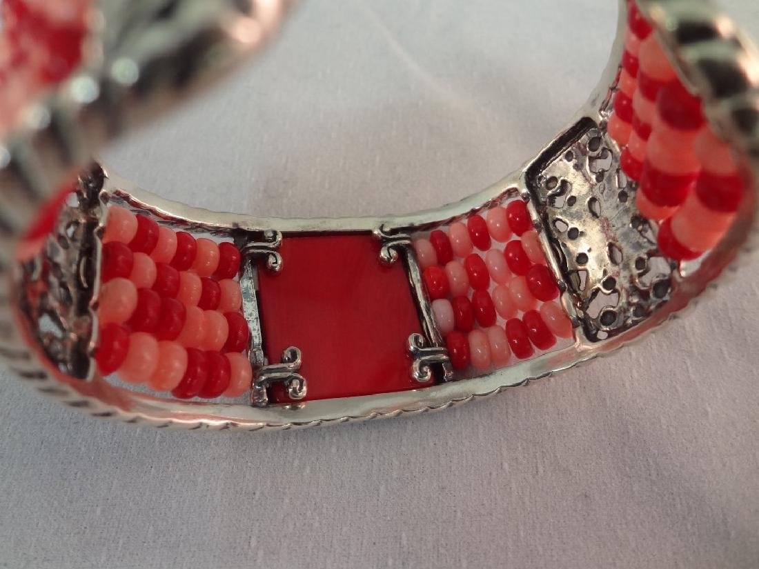 Carolyn Pollack Sterling Silver Shades of Coral - 8