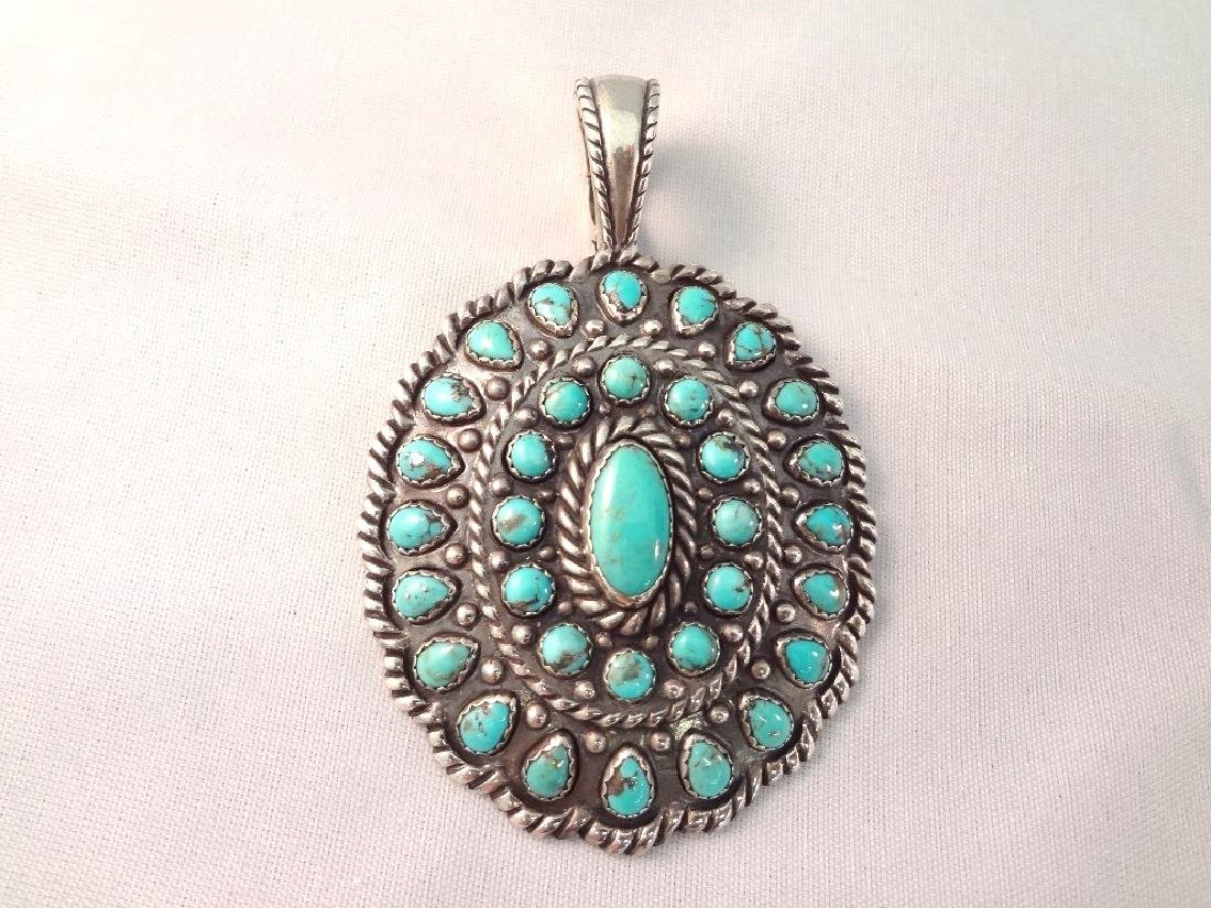 Carolyn Pollack Relios Sterling Turquoise Cabochon - 2