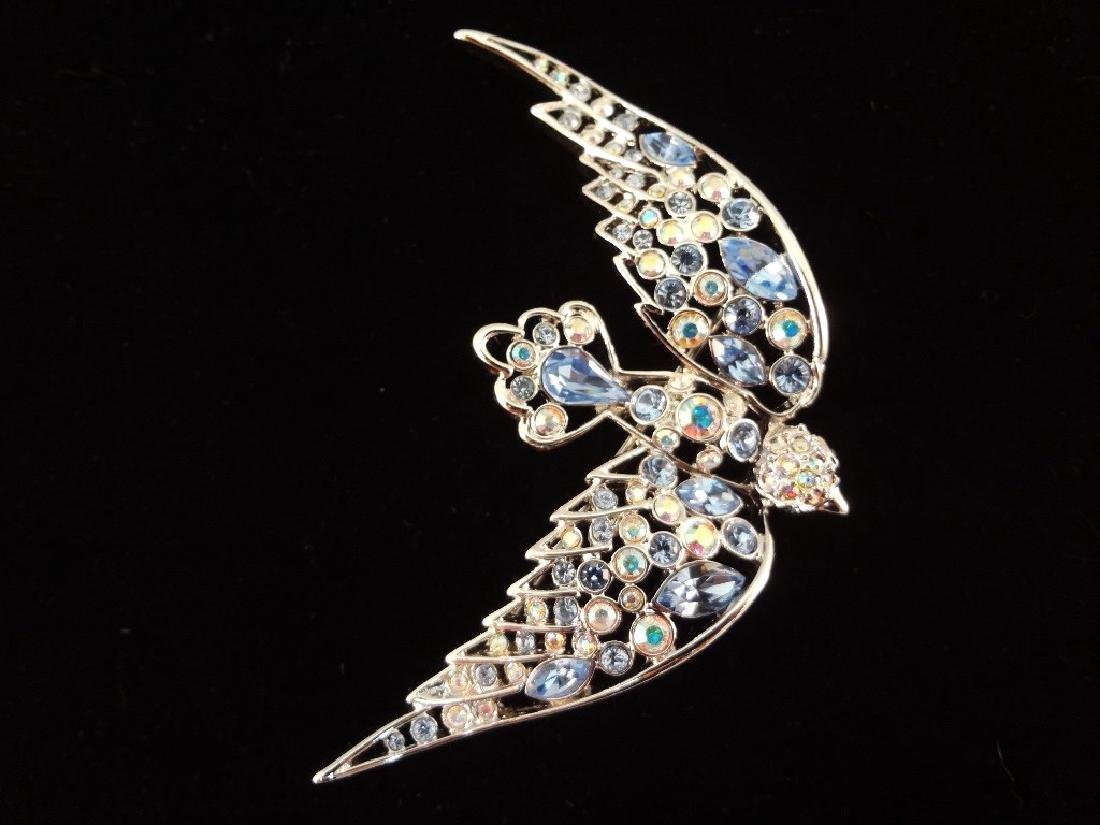 Nolan Miller Vintage Brooches: Lobster, Dragonfly, - 5