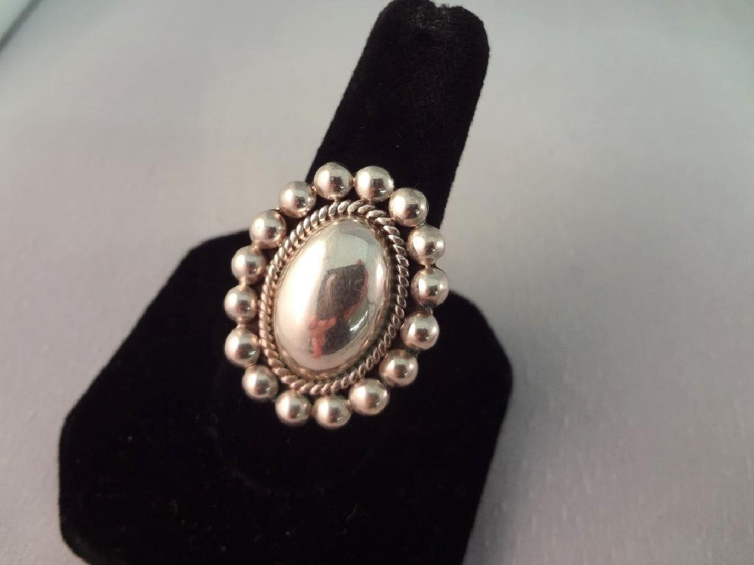 CII Mexican Sterling Silver Jewelry Group: (3) - 2