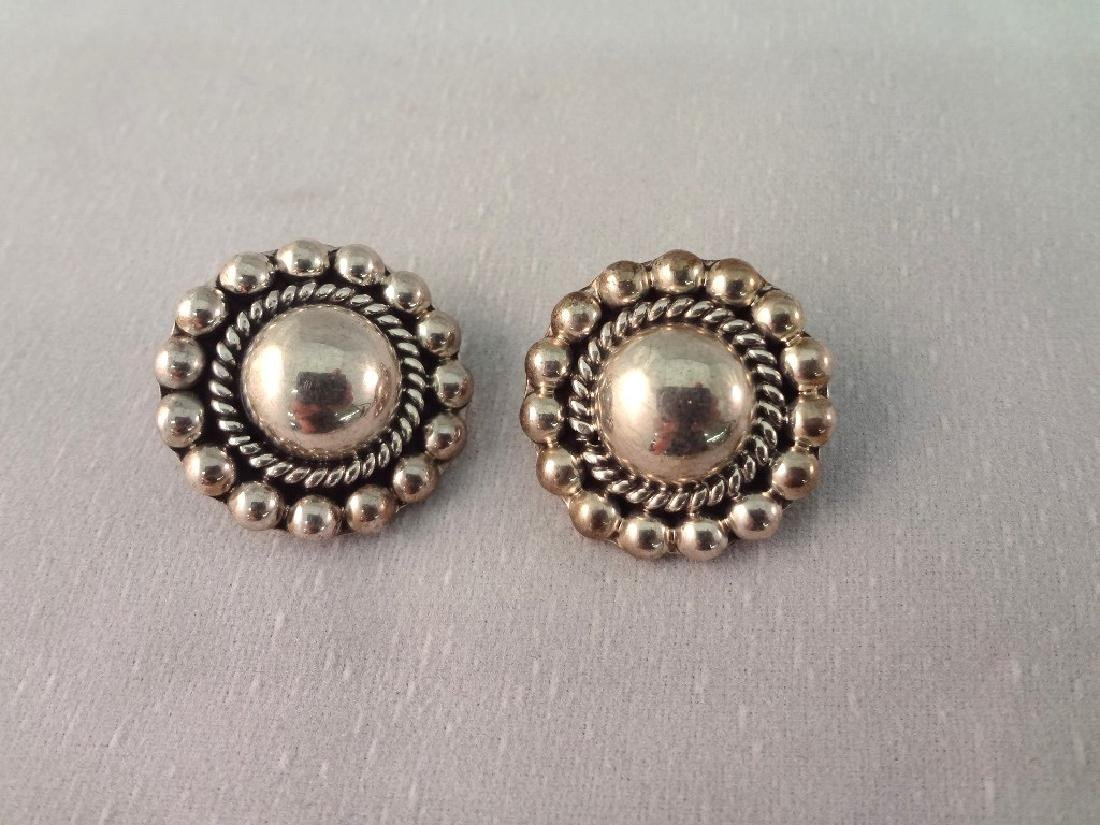 CII Mexican Sterling Silver Jewelry Group: (3) - 3