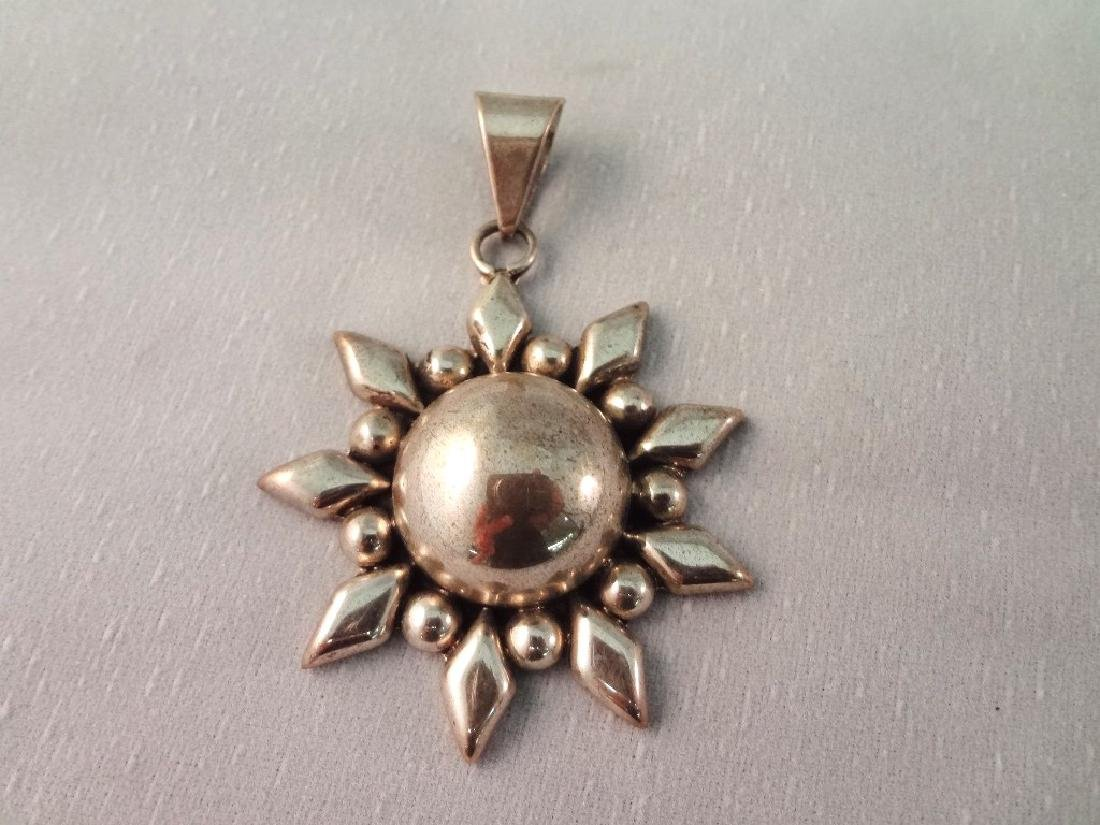 CII Mexican Sterling Silver Jewelry Group: (3) - 4