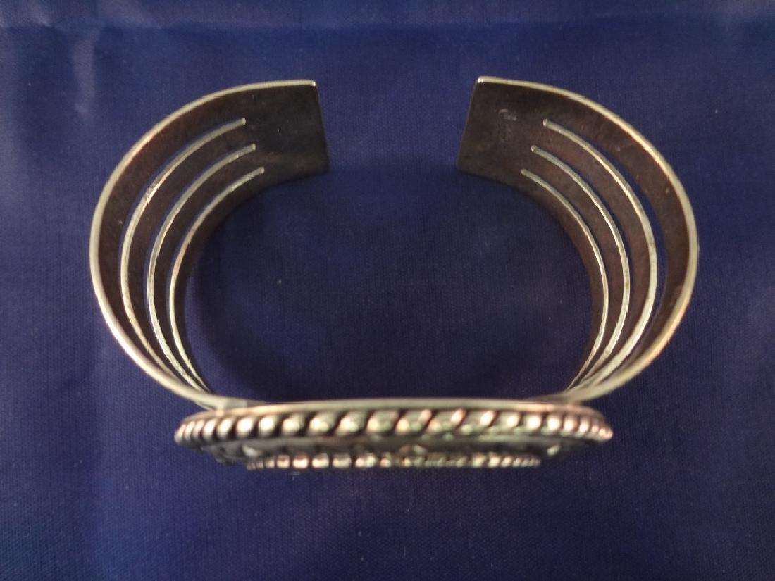 Carolyn Pollack Sterling, 14K Gold Matching (1) Cuff - 8