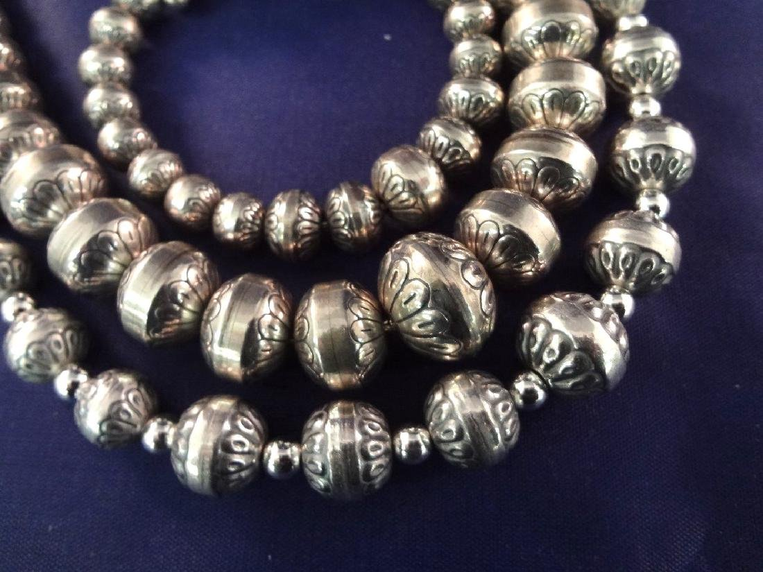 Carolyn Pollack Sterling Silver (2) Bench Bead and - 2