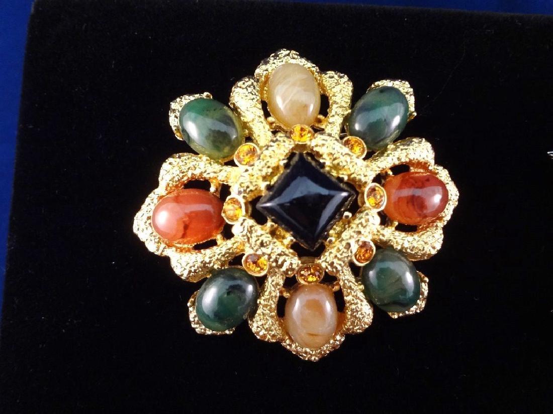 (6) Joan Rivers Vintage Swarovski Rhinestone/Enameled - 5