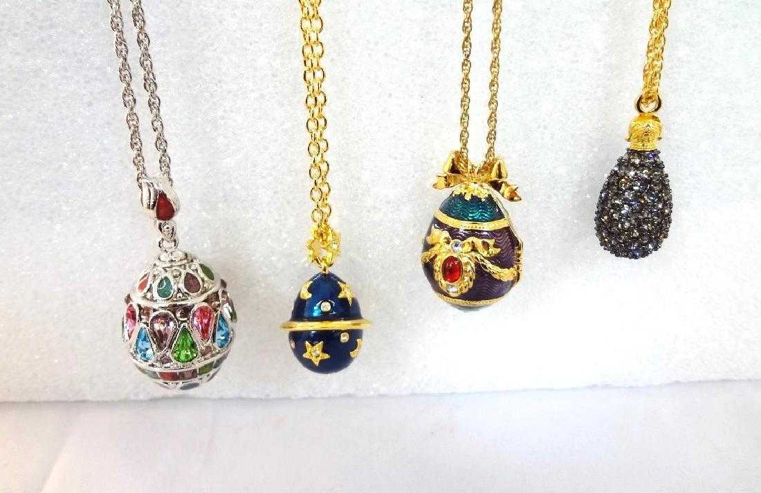 aa7b96a34 Faberge Egg Pendant Necklace - Pendant Design Ideas