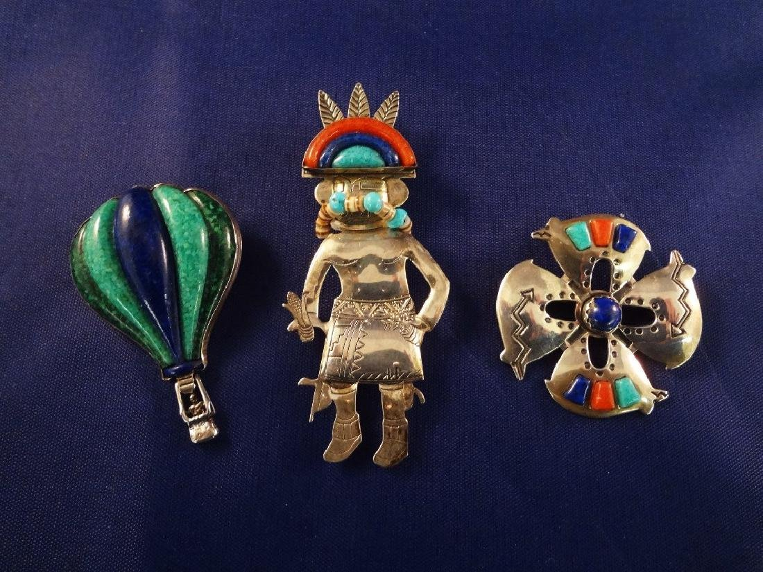 Carolyn Pollack Carlisle Jewelry (3) Pendant/ Brooches
