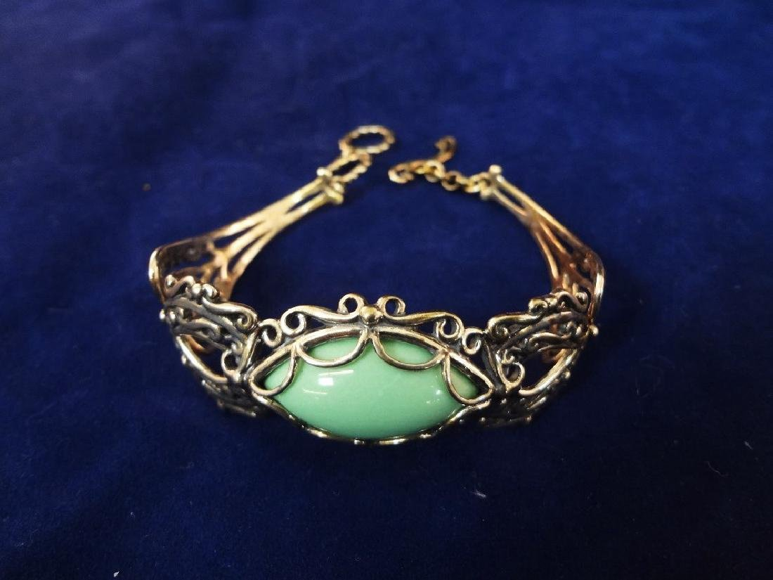 Carolyn Pollack Sterling Silver Turquoise Jewelry Suite - 4