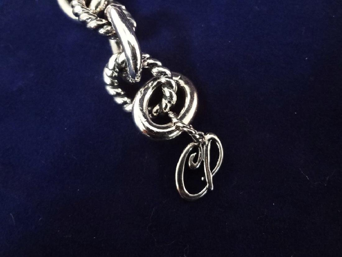 Carolyn Pollack Heavy Chunky Link Sterling Silver Chain - 3