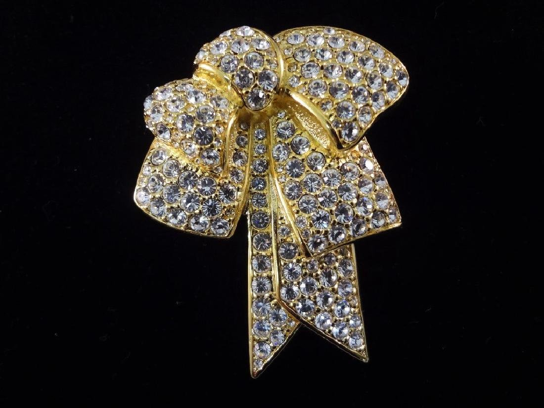 (6) Nolan Miller Heart and Bow Pendants and Brooches - 3