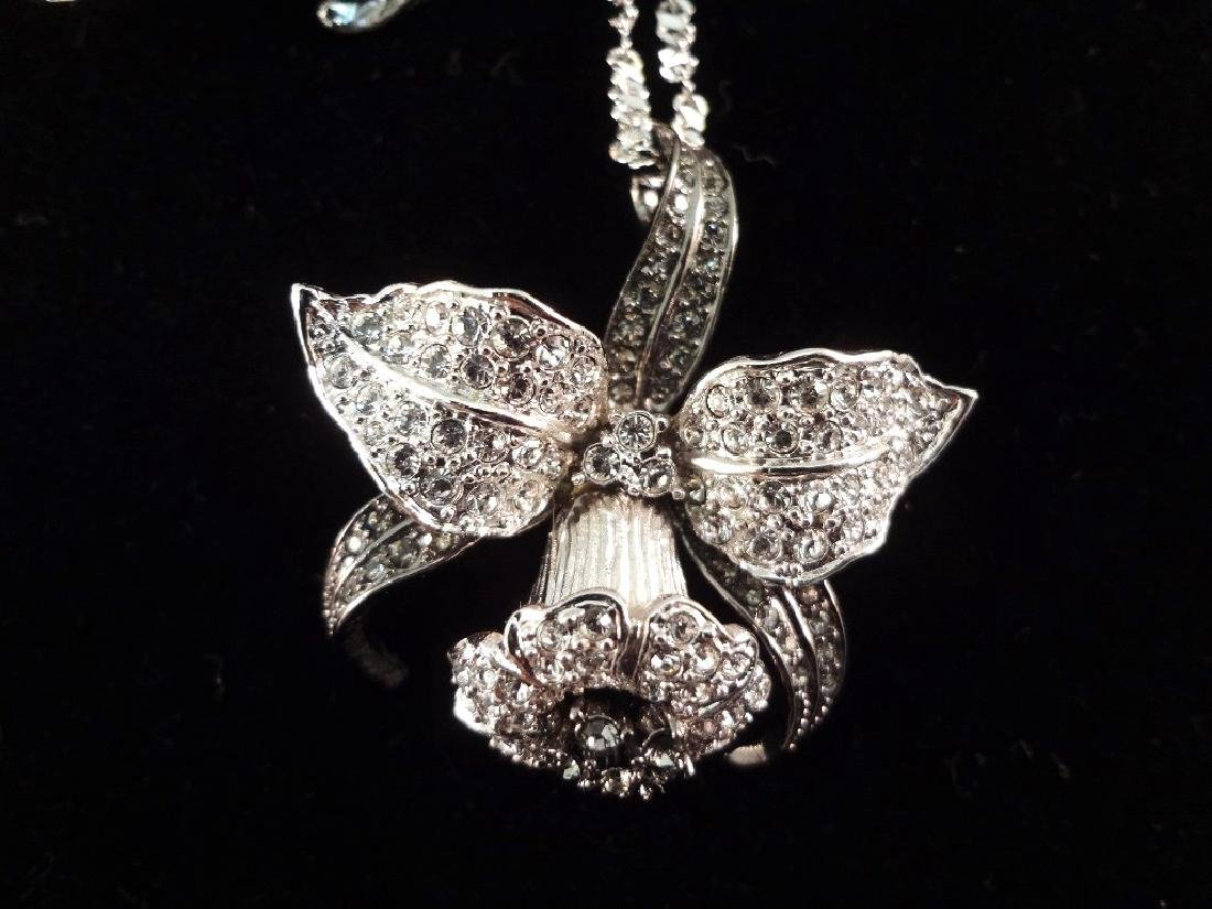 (2) Nolan Miller Necklace, Brooch and Earrings Sets - 2